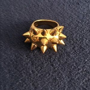 Jewelry - Spiked Ring 💥 Costume Jewelry Gold Colored S 7-8